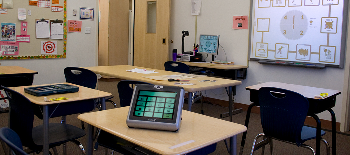 Monarch classroom with assistive technology resources