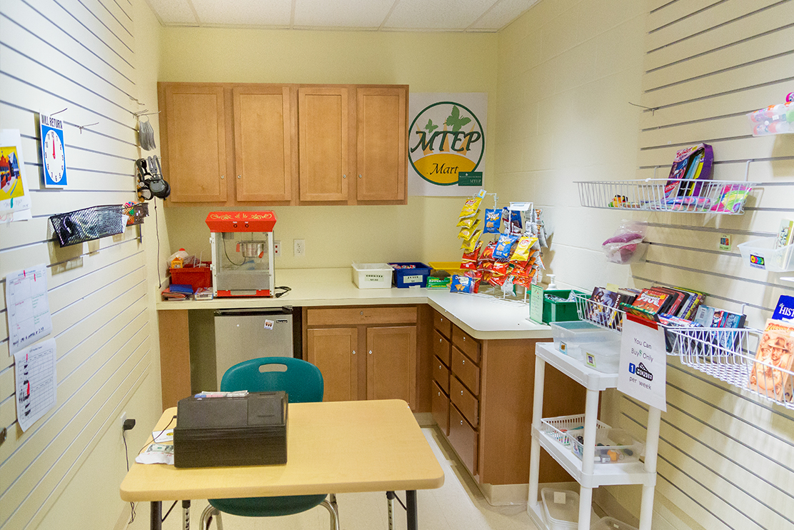 Monarch Center for Autism sensory friendly classroom
